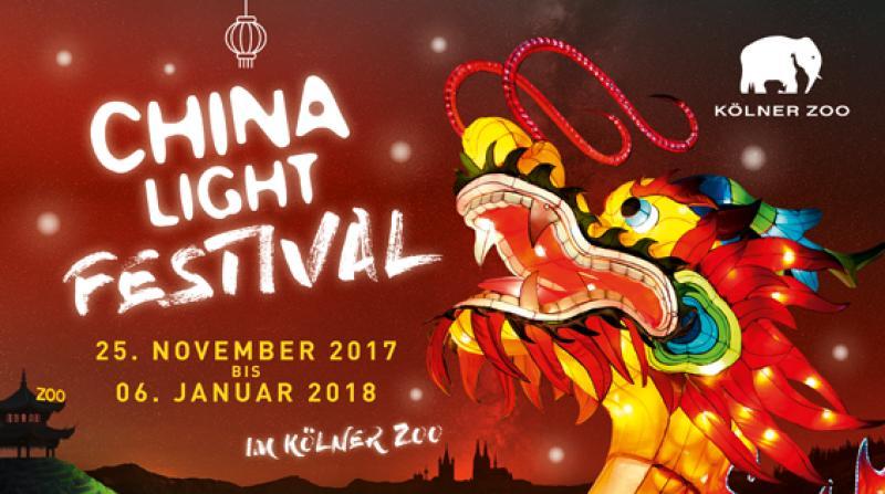 Das China Light-Festival im Kölner Zoo