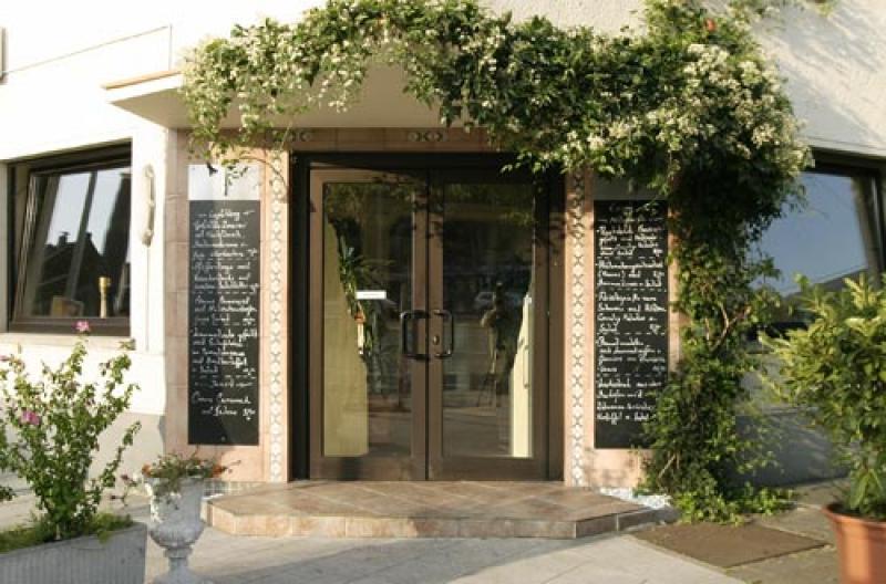 Eingang des Restaurants Aphrodite