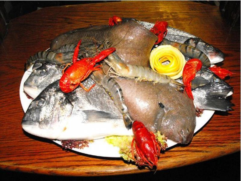 Unsere leckere Fischplatte