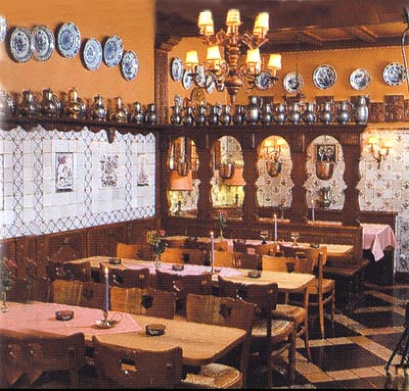 Tradition im Restaurant