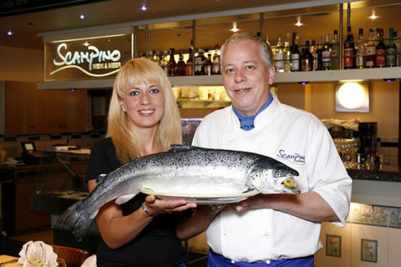 Täglich frischen Fisch