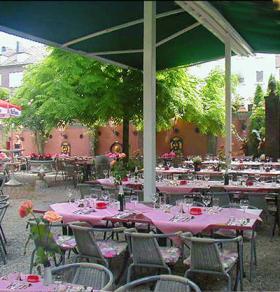 Hirschgarten Terrasse