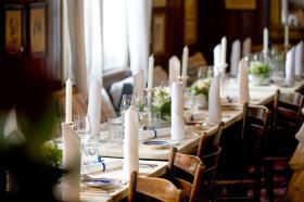 Unsere stilvoll gedeckten Tische