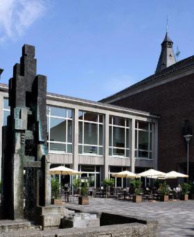 Blick auf die Terrasse des Consiliums