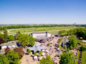 Unser Gastronomiepark der Arena Weischenpesch im Überblick