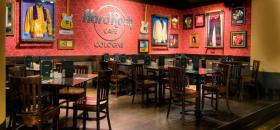 Bühne im Hard Rock Café Köln