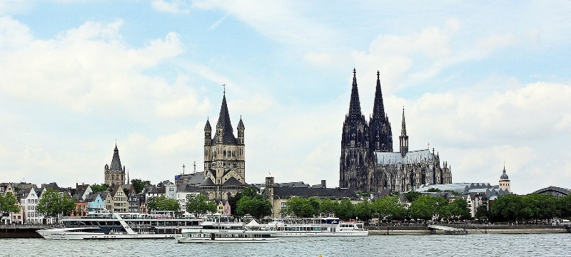 Cologne, Rhine, Skyline, Cologne Cathedral, Old Town of Cologne, reservation, restaurant