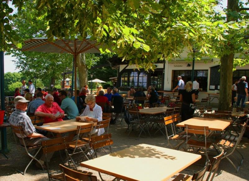 The Biergarten season is here